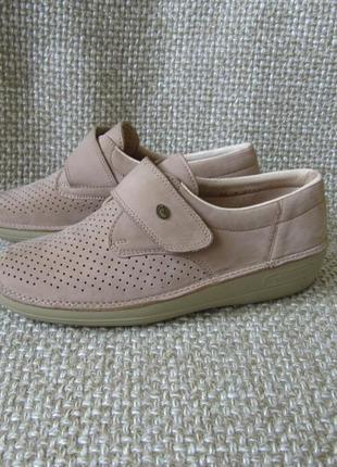 Туфлі шкіряні ортопедичні strober розмір 37-37.5