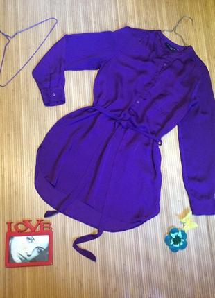 Стильное платье рубашка,размер l