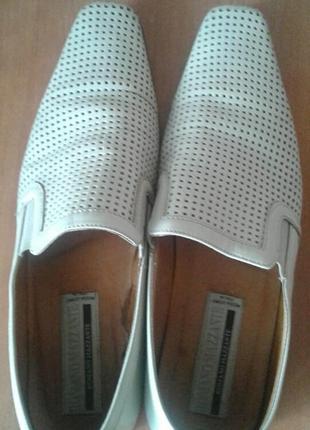 Туфли летние кожаные(мужские)