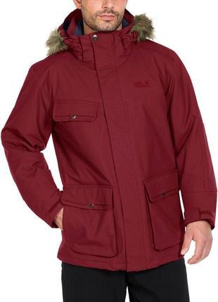Куртка jack wolfskin nova scotia ii texapore. размер м