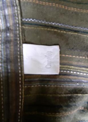 Фирменная коттоновая рубашка. франция3 фото