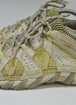 Треккинговые кроссовки merrell waterpro maipo pale yellow j80064