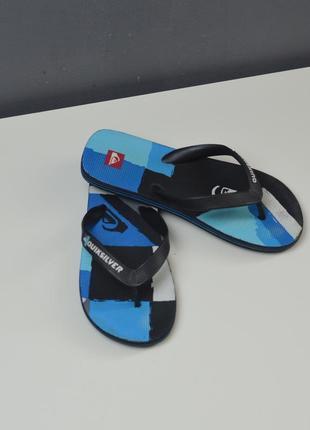 Крутые вьетнамки quiksilver flip flops