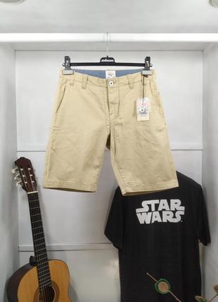 Шорты мужские бежевые джинсовые ozzy by carlings