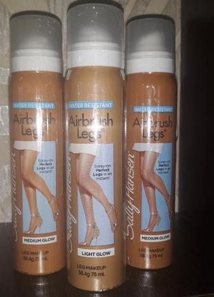 Тональный спрей для ног sally hansen airbrush legs