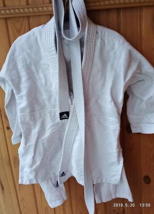 Кимоно adidas на рост 140-150