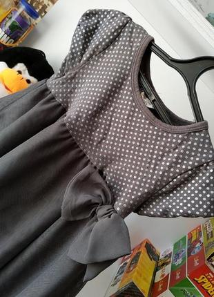 Летнее платье сарафан h&m на девочку 2-4 г, 92-104 см4 фото