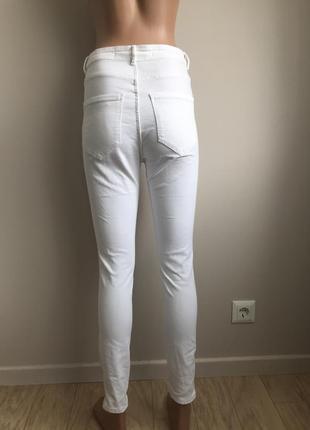 Белые джинсы3 фото