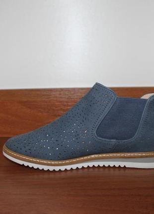 Ботинки кожаные caprice