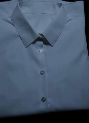 Классическая белая рубашка блузка george