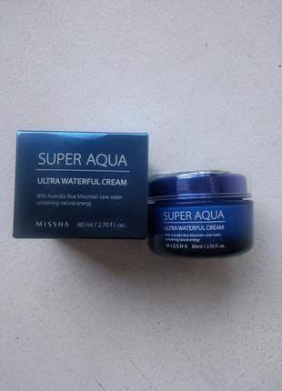 Крем для лица missha super aqua ultra waterfull cream2 фото