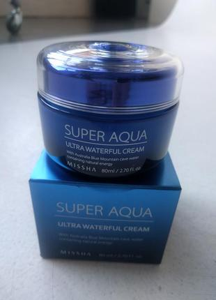 Крем для лица missha super aqua ultra waterfull cream
