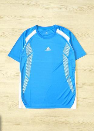 Легкая спортивная мужская футболка adidas р. s - m. сток, оригинал