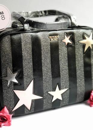 Стильный дорожный чемодан victoria's secret