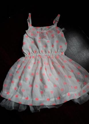 Плаття в сердечкі