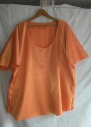Классная атласная блуза ручной работы для очень хорошей женщины