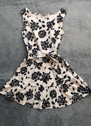 Супер платье с цветочным принтом
