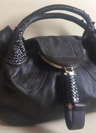 Fendi spy bag культовая сумка 100% кожа
