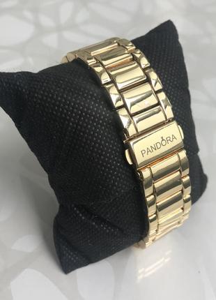 Женские наручные металлические модные часы золотистые4 фото