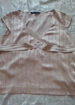 Шикарная шелковая блуза 🌸🌷🌸цвета пудры