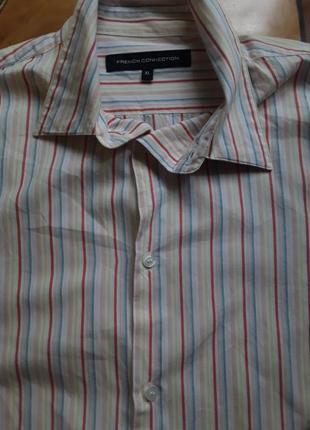 Фірмова англійська сорочка french connection, оригінал, розмір l-xl.