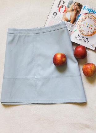 Нежно-голубая юбочка от new look, размер 3xl