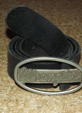Кожаный ремень wrangler®