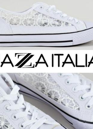 Белые кеды piazza italia (есть еще черные)