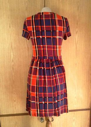 Вискозное яркое платье, xs-l.2 фото