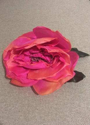 Гребень  для волос с розой
