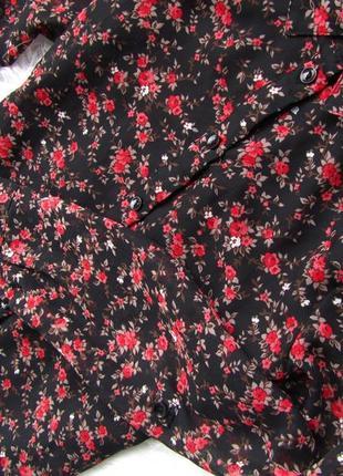 Качественная и стильная рубашка  блузка here+there c&a4 фото