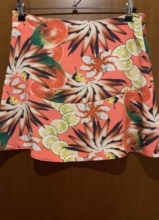 Летняя цветная юбка