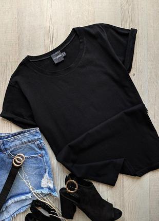 Чёрная футболка asos petite4 фото