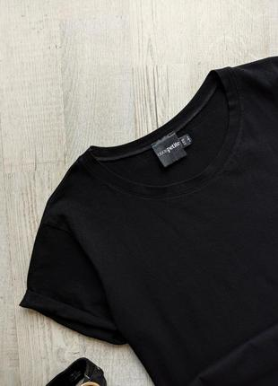 Чёрная футболка asos petite5 фото