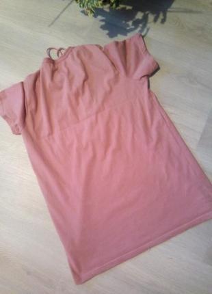Удлиненная футболка4 фото