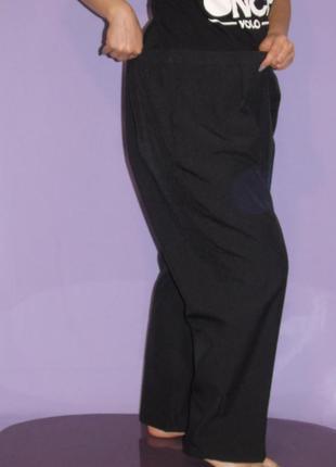 Черные классические брючки 22 размера