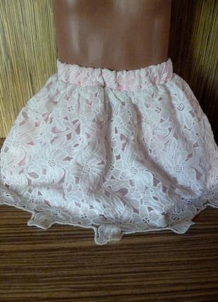 Нарядная юбка на 4-5лет