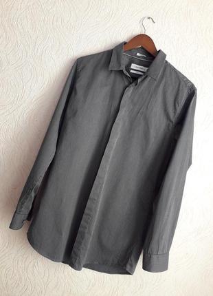 Классная рубашка calvin klein размера м