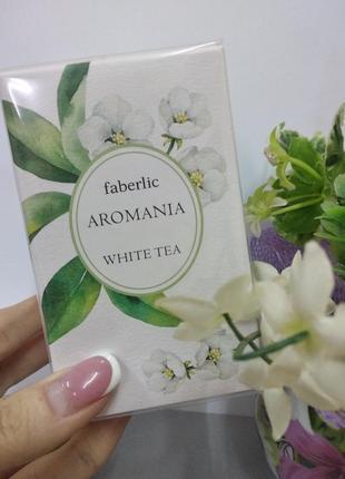 Туалетная вода aromania white tea