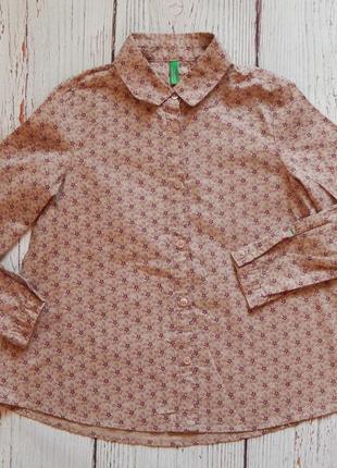 Детская рубашка united colors of benetton