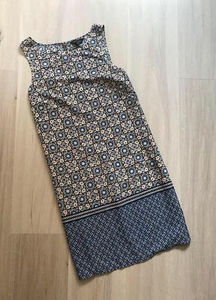 baee349a02260f Новое летнее платье в принт нове літнє плаття прямого крою new look m1 фото  ...