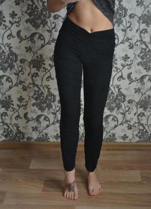 Черные лосины от selected femme3