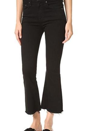 Актуальные укороченные джинсы с необработанными краем next