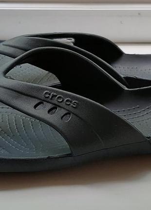 Фирменные сланцы crocs(original).
