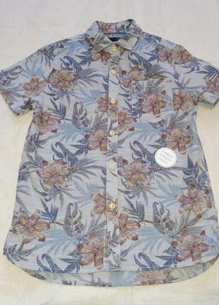 Рубашка тениска next 5 лет 110 см 100% котон