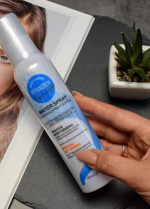 Освежающий спрей для лица images moisturizing water spray с термальной водой