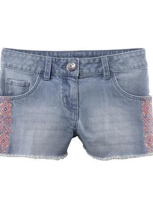 Шорты джинсовые короткие, 122, германия