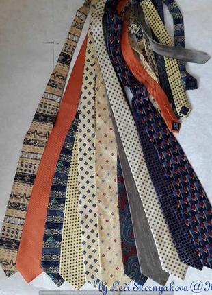 Новые фирменные стильные аккуратные галстуки на разный вкус со 100 % шёлка