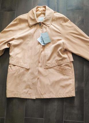 Пастельная красивая куртка holmewood, m р. новая!