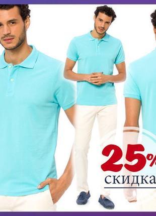 #розвантажуюсь мужское поло голубое lc waikiki / лс вайкики . фирменная турция